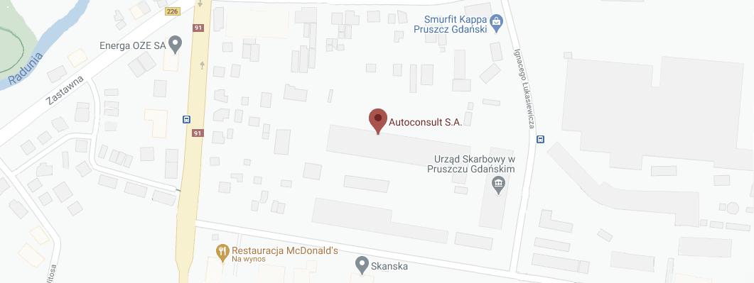 Autoconsult SA mapa